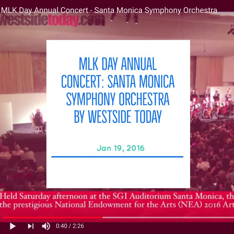 MLK Day Annual Concert: Santa Monica Symphony Orchestra